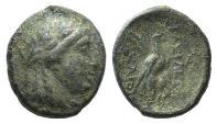Ancient Coins - Seleukid Kings, Achaios (Usurper, 220-214 BC). Æ 20mm