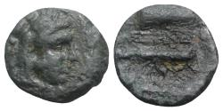 "Ancient Coins - Kings of Macedon, Alexander III ""the Great"" (336-323 BC). Æ 1/4 Unit"