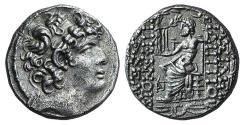 Ancient Coins - Seleukid Kings, Philip I Philadelphos (c. 95/4-76/5 BC). AR Tetradrachm. Posthumous issue under Roman Administration, 47/6-14/3.