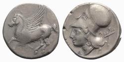 Ancient Coins - Akarnania, Leukas, c. 320-280 BC. AR Stater