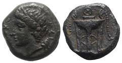 Ancient Coins - Sicily, Syracuse. Roman rule, after 212 BC. Æ 12mm