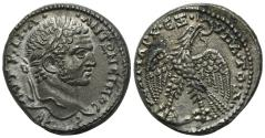 Ancient Coins - Caracalla (198-217). Seleucis and Pieria, Antioch. AR Tetradrachm