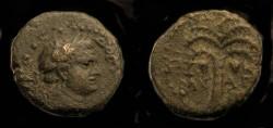 Ancient Coins - > Agrippa II under Domitian. AE 15. Hendin 1320