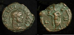 Ancient Coins - Roman Provincial Egypt. Maximianus, 285 - 310 AD. Bil Tetradrachme