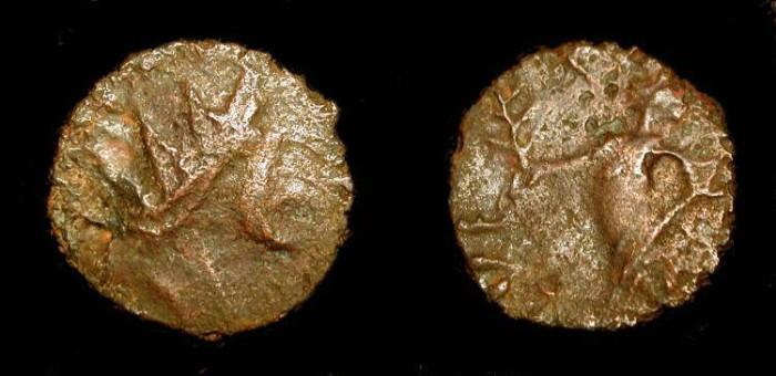 World Coins - 3rd century AD Barbarous radiate. Imitating a Gallo-Roman issue