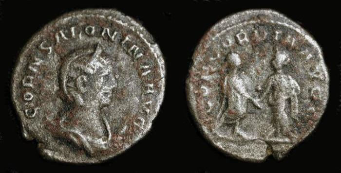 Ancient Coins - Salonina wife of Gallienus (253-268 AD). Antoninianus