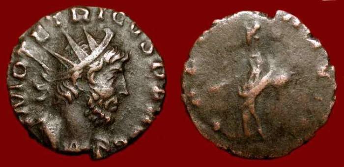 Ancient Coins - Tetricus I  271-274 AD, Billon Antoninianus