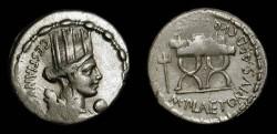 Ancient Coins - M. Plaetorius M. f. Cestianus. 67 BC. AR Denarius