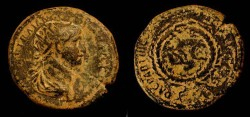 Ancient Coins - Trajan, 98-117 AD. AE 24. From the time of the War of Quietus. Hendin 938