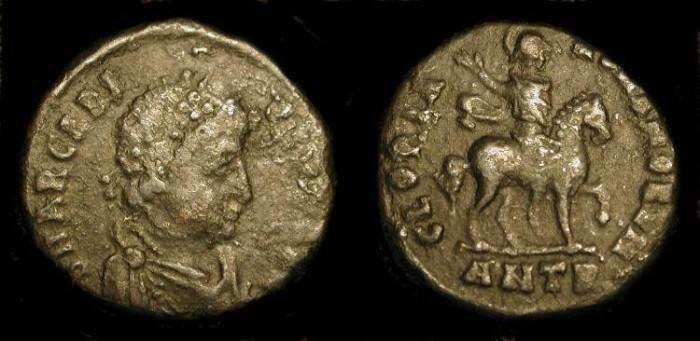 Ancient Coins - xxArcadius. 383-408 AD. Emperor on Horseback