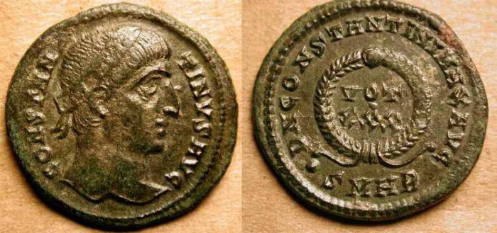 Ancient Coins - z    Constantine the Great  . 307-337 AD . Heraclea .