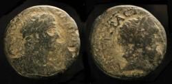 Ancient Coins - > City Coins of Judaea. Dora. Hadrian 117-138 AD. AE 23. Hadrian / Doros