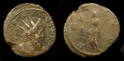 Ancient Coins - Postumus 260-269 AD. AE Antoninianus, Pax.  Cologne mint.