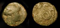 Ancient Coins -  Mysia, Pergamon. Circa 2nd Century BC. Athena / Coiled Snake