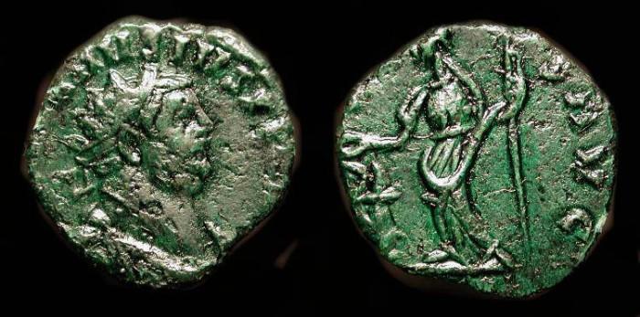 Ancient Coins - Carausius 287-293 AD. AE Antoninianus. Salus