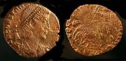 Ancient Coins - Constantius II. 337-361 AD. AE Half Centenionalis