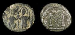 World Coins - Arab Byzantine. Main Bilingual Series : AMMAN. AE Fals. Album 3526