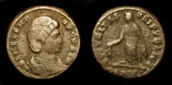 Ancient Coins - Helena, Mother of Constantine the Great, Reduced Follis