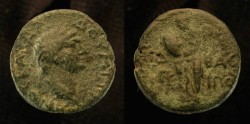 Ancient Coins - Agrippa II under Domitian. AE 20
