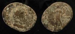 Ancient Coins - Agrippa II under Vespasian. AE 28