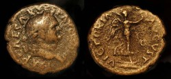 Ancient Coins - Vespasian, 69-79 AD. AE As