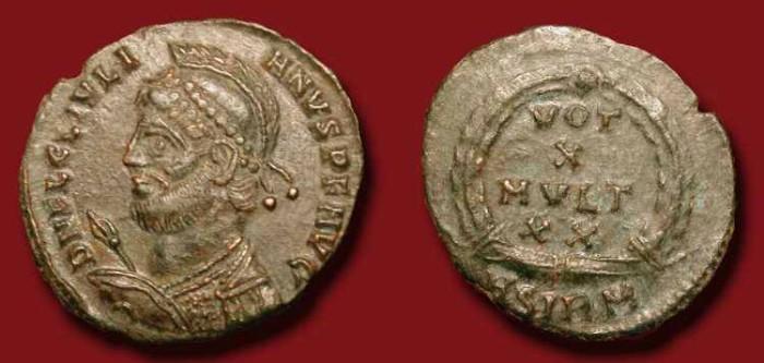 Ancient Coins - Julian II. 360-363 AD.  AE 20mm