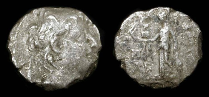 Ancient Coins - Seleukid Empire. Alexander II  128-123 BC. AR Drachme.  ex: ANS Collection.