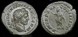 Ancient Coins - Caracalla 198-217 AD. AR Denarius.  Superb !