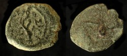 Ancient Coins - > Herod the Great 37 - 4 BC. AE Prutot. H 1172