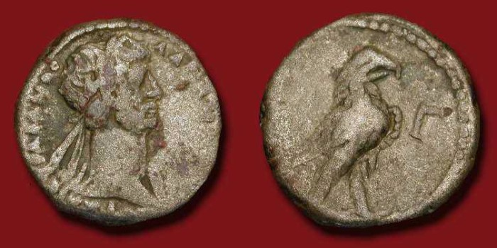 Ancient Coins - ROMAN EGYPT, Alexandria . HADRIAN, 117-138 AD .  Tetradrachm
