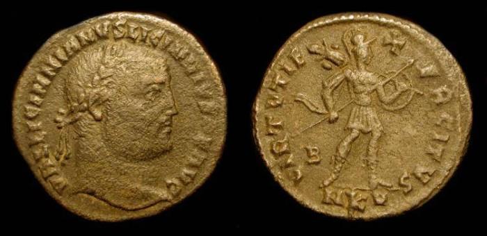 Ancient Coins - Licinius I 308-324 AD, AE Follis. Cyzikus. RIC VI  60 Scarce