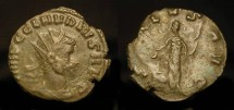 Ancient Coins - Claudius II Gothicus. 268-270 AD. Billon Antoninianus. Salus