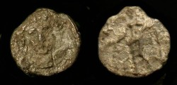 Ancient Coins - Samaria. 375-333 BC. AR Hemiobol. Very Rare