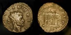 Ancient Coins - DIVUS CLAUDIUS II GOTHICUS, Antoninianus (23mm, 3.3g).
