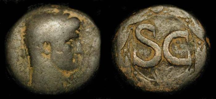 Ancient Coins - Antioch. Claudius 41-54 AD. AE 24