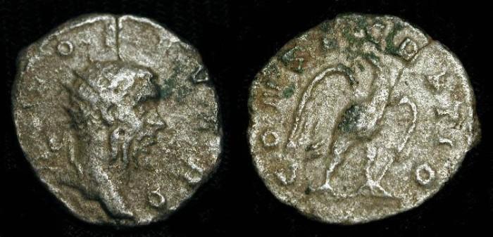 Ancient Coins - Divo Severo, AR Antoninianus. Restitution issue struck by Trajan Decius. Very Rare (R2)