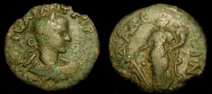 Ancient Coins - x Pisidia Adada. Gordian III 238-244 AD. AE 24 mm