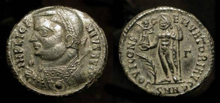Ancient Coins - Licinius I 308-324 AD, AE Follis. Nicomedia Mint. RIC VII, 24 (r1) Rare