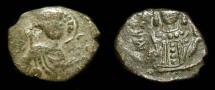 World Coins - Manuel I Comnenus, 1143-1180 AD. AE Half Tetarteron. SB 1980