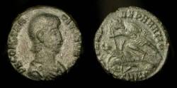 Ancient Coins - Constantius Gallus as Caesar. 351-354 AD. AE 16. Cyzikus