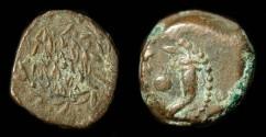 Ancient Coins - > Judaea. Alexander Jannaeus. AE Prutah. H 1146 Crude