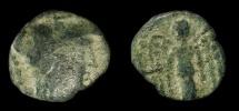 Nabatea. Aretas III  87-62 BC. AE 15 Damascus Mint. Meshorer 1