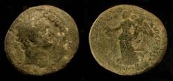 Ancient Coins - Domitian 81-96 AD. AE 23. Caesarea. Judaea Capta.