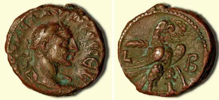 Ancient Coins - Claudius II Gothicus   .  268-270 AD  .  Tetradrachm