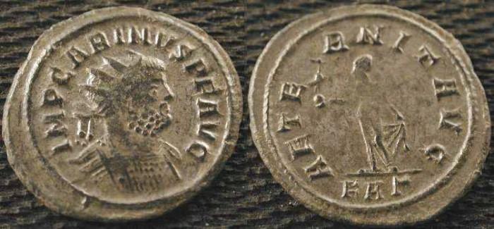 Ancient Coins - Carinus . 283-285 AD .