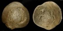 Ancient Coins - Alexius III  1195-1203 AD. Billon Aspron Trachy