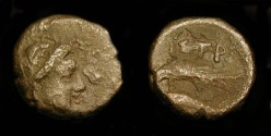 Ancient Coins - Istros, Thrace.  4th - 3rd Century BC.  AE 12