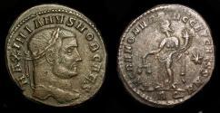 Ancient Coins - Galerius as Caesar, 293-305 AD.  AE Follis. Rome Mint. RIC 104b