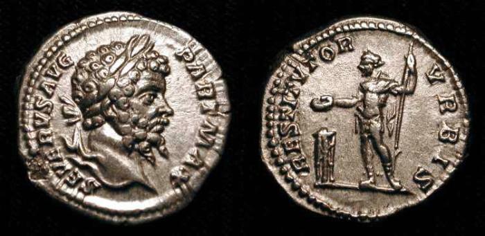 Ancient Coins - Septimius Severus. 193-211 AD. AR Denarius