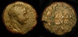 Ancient Coins - Trajan  98-117 AD. AE 24. Syria, Cyrrhestica. Chalcis